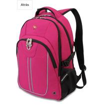 Mochila Backpack Swissgear 15 Pulgadas Rosa