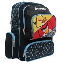 Mochila Backpack Angry Birds 43cm Porta Laptop E4f