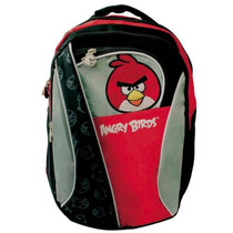 Remate Mochila Backpack Angry Birds 43cm Porta Laptop E4f