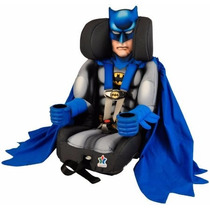 Auto Asiento Booster Car Seat Kids Embrace Harness, Batman