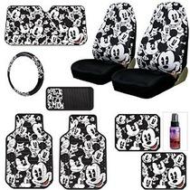 Asiento Nuevo Diseño De Disney Mickey Mouse Coche Cubre Floo