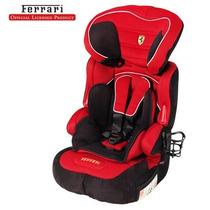 Autoasiento Silla Ferrari Booster New Fix Prinsel 2 En 1 Vbf