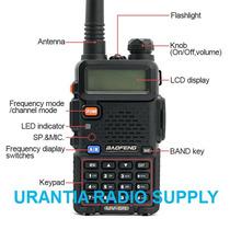 Baofeng Uv-5r Vhf/uhf 136-174 400-520 Mhz
