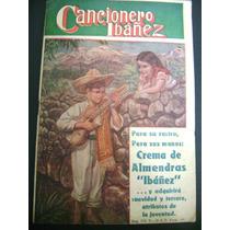 Cancionero Ibañez Y Melodías Mexicanas De 1955