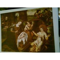 Poster De Pintura Española Flamenca,pintada En Madera