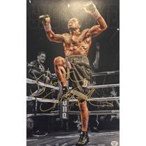 Foto Autografiada Boxeo Shawn Porter 30 Cm X 20 Cm Holograma