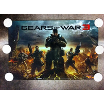 Poster Gears Of War 3 (gow) Delta Squad