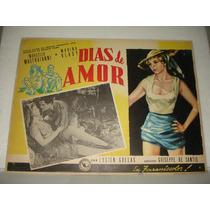 Marina Vlady, Dias De Amor, Cartel De Cine