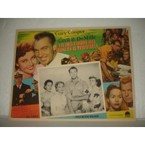 Gary Cooper, La Historia Del Doctor Wassell, Cartel De Cine