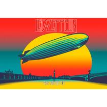 Led Zeppelin Poster 46x30cm Hard Rock Clasico