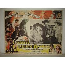 Alvaro Zermeño, Caballo Prieto Afamado, Cartel De Cine