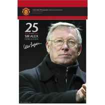 Manchester United Papel Fotográfico - Sir Alex 25 Años