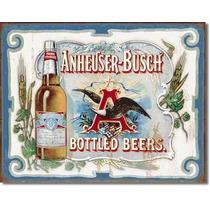 Poster Metalico Litografia Lamina Decoracion Bar Budweiser