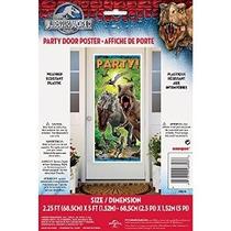 Plástico Jurásico Cartel 60 Mundial Door X 27