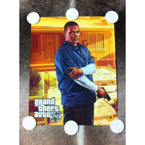 Poster Grand Theft Auto V (gta 5) Franklin