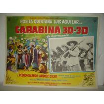 Rosita Quintana, Carabina 30-30, Cartel De Cine