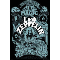 Led Zeppelin Poster 90 X 120cm Rock 60s 70s Hippie