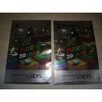 Poster Metalizado Super Mario 3d Land Nintendo 3ds