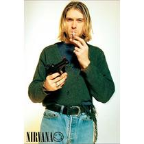 Kurt Cobain Nirvana Poster 30x46cm Grunge
