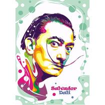 Lienzo Tela Poster Salvador Dali Arte 50 X 65 Cm