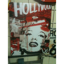 Poster Decorativo Lamina Letrero Vintage Marilyn Monroe Holl