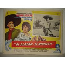 Antonio Aguilar, El Alazan Y El Rosillo, Cartel De Cine