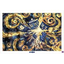 El Doctor Who Cartel - La Explosión De Tardis Maxi 61cmx 91