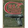 Anuncio Tipo Antiguo Colt Pistolas Y Revolver Automaticos