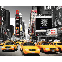 Times Square Poster - Nueva York Taxis Yellow Room Inicio
