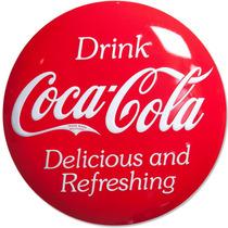 Coca Cola Poster Metalico Vintage Retro Antiguo Boton Ice Co