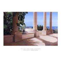Poster (91 X 66 Cm) Island Columns Alice Dalton Brown