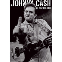 Johnny Cash - Finger Poster 90x120 Rockabilly Sun Records