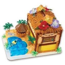 Coconut Beach Cabana Firma Decoset Decoración De La Torta
