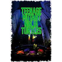 Tortugas Ninja Pelicula Poster 30x46cm Tmnt Vintage