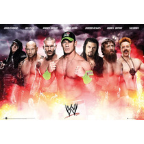 Wwe Poster - Collage 2014 Maxi 61x91.5cm 150gsm Oficial