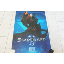 Starcraft Poster Protoss Original Blizzcon 2015 Exclusivo.