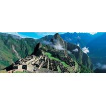Alto Ángulo Vista De Ruinas De Antiguo Edificios Inca