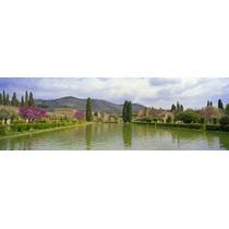 Poster (69 X 23 Cm) Pond At A Villa Hadrian