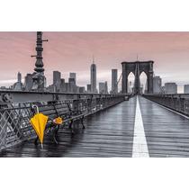 Nueva York Poster - Assaf Frank Puente De Brooklyn Umbrella