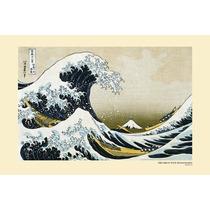 Ola De Kanagawa Cartel - Gran Mar Maxi 61cmx 91cm Nuevo