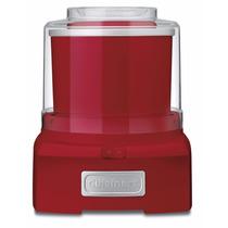 Maquina Oara Hacer Helados Cuisinart Ice-21r Roja