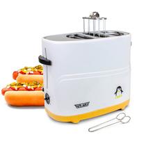 Máquina Tostador Para 2 Hot Dog Pingüino Ajustable Turmix