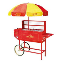 Carrito Exhibidor Hot Dog Comercial Nostalgia Op4