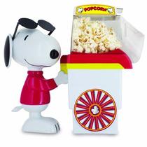 Maquina De Palomitas Snoopy Cool Joe Carrito Rojo Y Blanco