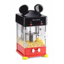 Máquina Para Palomitas De Mickey Mouse Con Accesorios!!!