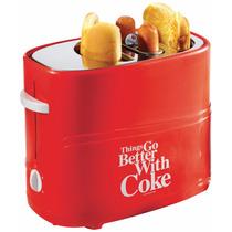 Tostador Maquina Para Hacer Hot Dogs Nostalgia Coca Co Retro