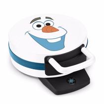 Maquina Frozen Wafflera Hot Cakes Wafles Disney Olaf