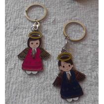 Llavero Angelito Personalizado Grabado Angel Bolo