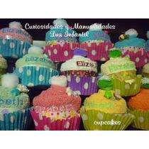 10 Cupcake Recuerdo D Toalla Primera Comunion, Xv Años,bodas