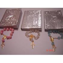 Librito D Oraciones Con Decenario Paquete 10 Libros Repujado